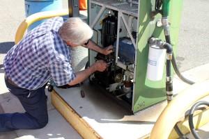 gas leak repaired